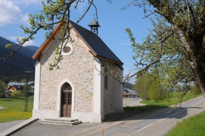 La chapelle de la Frasse au Bourget en Huile