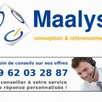 Logo de Maalys, conception et référencement