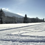 Retour des pistes de fond au Bourget en Huile