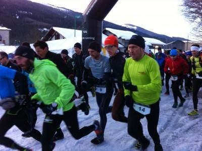 Départ Belledonne Gelon Trail au Bourget en Huile
