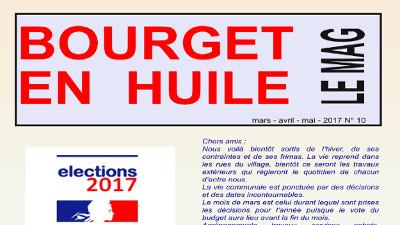 Le MAG, le journal municipal du Bourget en Huile