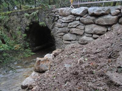 Pont des Boulins en travaux
