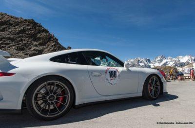 Porsche du Savoiecup au Bourget en Huile