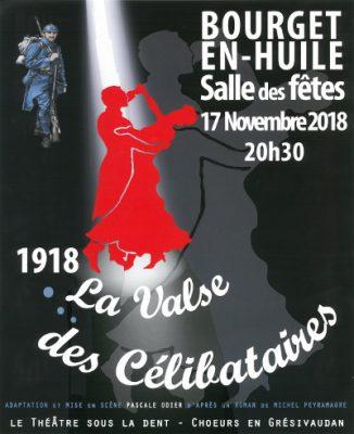 affiche de la valse des célibataires au Bourget en Huile
