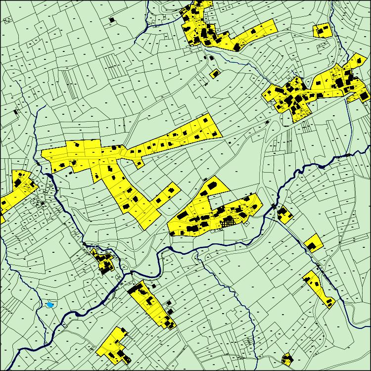 Carte communale du Bourget en Huile